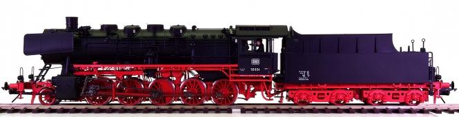 Lenz 40250-01 (Spur 0) – Dampflok BR 50 der DB, digital + Sound + Telex