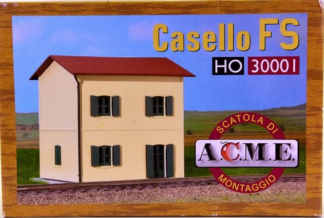 ACME 30001 (H0) – Bausatz Bahnwärterhaus der staatlichen Eisenbahngesellschaft Italiens FS