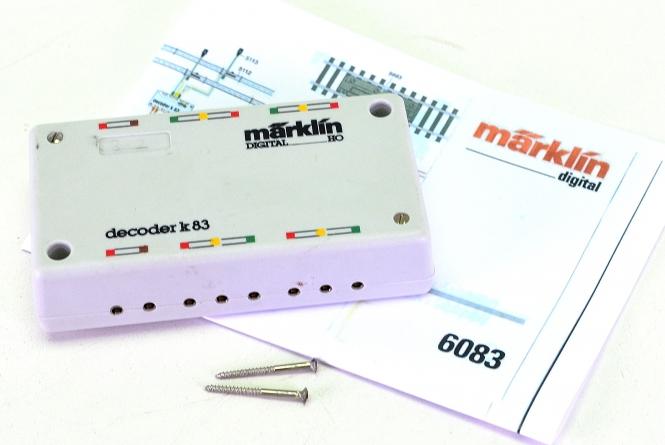Märklin 6083 – Schalt-Decoder k83, MM-Format