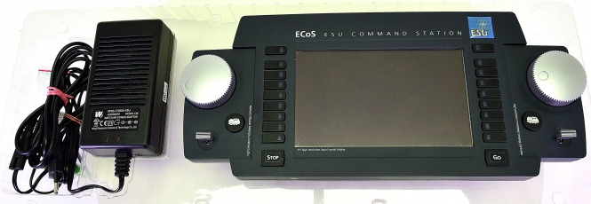 ESU 50200 - ECoS II Digitalsteuerzentrale, Software-Version 4