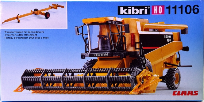 Kibri 11106 (H0) – Bausatz CAT Mähdrescher Lexion 480