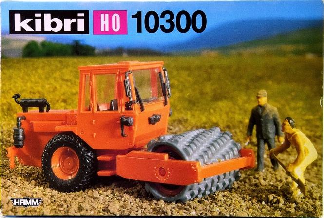 Kibri 10300 (H0) – Bausatz Stampffußwalze -Hamm-