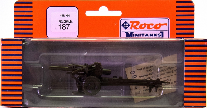 Roco minitanks 187 – Feldhaubitze M1A1 155 mm