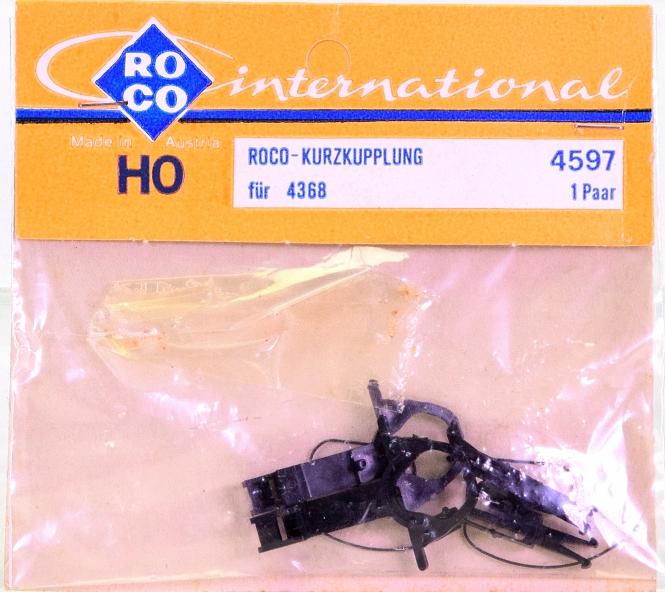 Roco 4597 (H0) – Kurzkupplungs-Satz für Wagen 4368