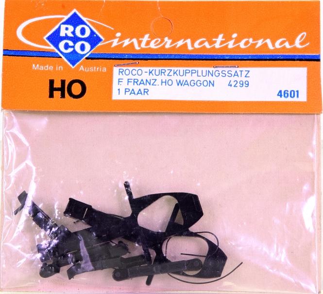 Roco 4601 (H0) – Kurzkupplungs-Satz für Wagen 4299