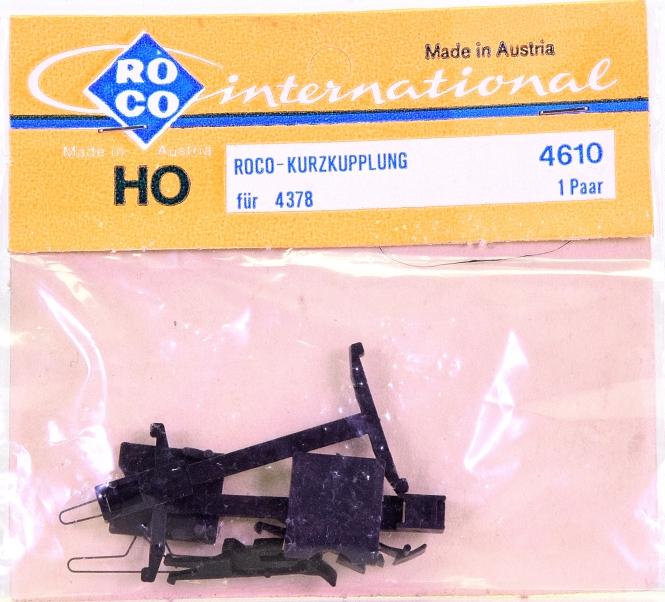 Roco 4610 (H0) – Kurzkupplungs-Satz für Wagen 4378