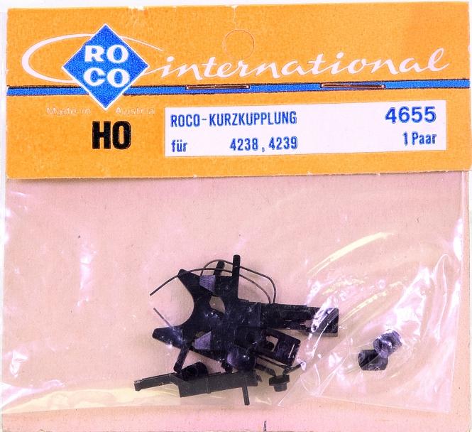Roco 4655 (H0) – Kurzkupplungs-Satz für Wagen 4238 und 4239