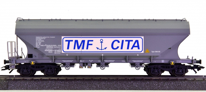 Märklin 46324 - Großraum-Silowagen Uapps -TMF / CITA- der SNCB