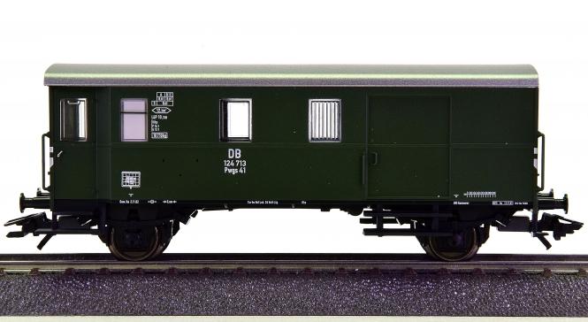 Märklin 46982 – Güterzug-Gepäckwagen Pwgs 41 der DB