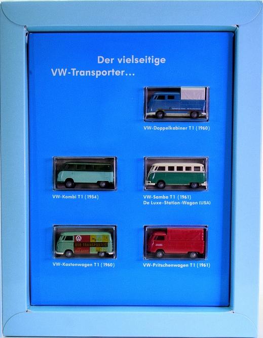 Brekina 9024 (1:87) – Sammler-Schatz 2, 5 VW Transporter + Sammlerheft