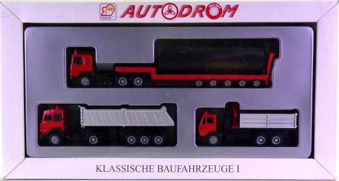 Herpa (1:87) – Klassische Baufahrzeuge I, Autodrom-Serie