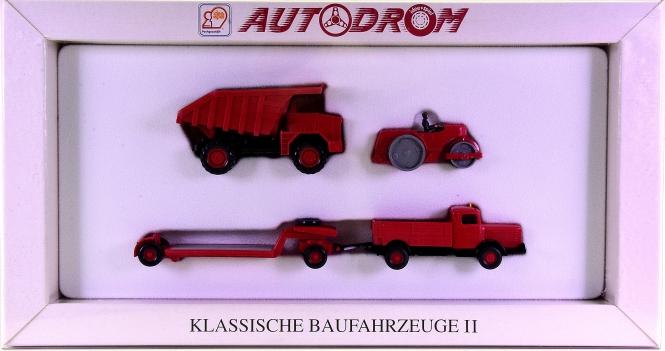 Wiking 99012 (1:87) – Klassische Baufahrzeuge II, Autodrom-Serie