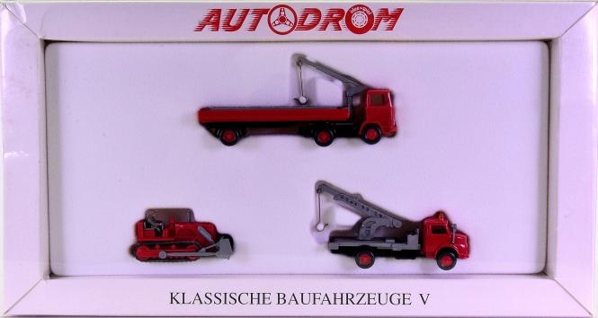 Wiking 99019 (1:87) – Klassische Baufahrzeuge V, Autodrom-Serie