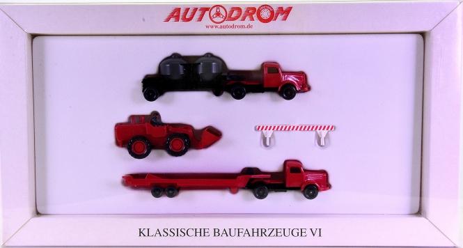 Wiking 99022 (1:87) – Klassische Baufahrzeuge VI, Autodrom-Serie