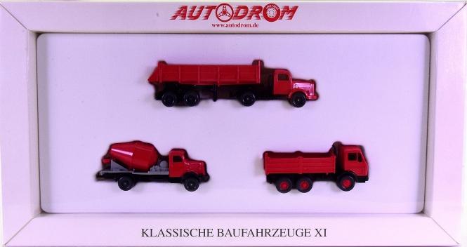 Wiking 99049 (1:87) – Klassische Baufahrzeuge XI, Autodrom-Serie