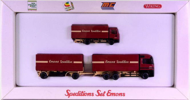 Wiking 99013 (1:87) – Speditions Set Emons