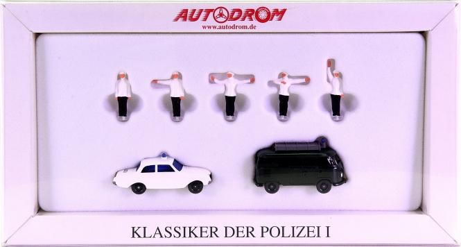 Wiking 990 45 (1:87) – Klassiker der Polizei, Autodrom-Serie