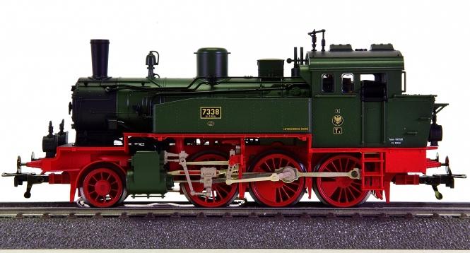 Fleischmann 1825 (AC) - Tender-Dampflok T9 (BR 91) der K.P.E.V., digital