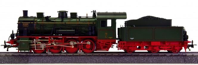 Fleischmann 1821 (AC) – Schlepptender-Dampflok G 8.1 (BR 55) der K.P.St.E.