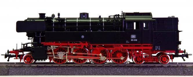 Fleischmann 1165 (AC) - Tender-Dampflok BR 65 der DB