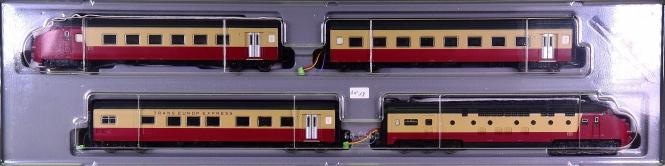 Märklin 3471 – 4-tlg. TEE -Edelweiß- Ram/TEE 1, digital (delta)