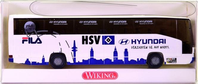 Wiking 7141244 (1:87) – Mercedes-Benz O 404 Reisebus -HSV Handball-