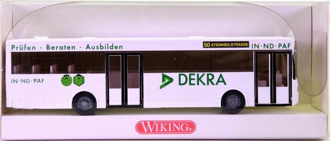 Wiking 702 03 35 (1:87) – Mercedes-Benz O 405 Stadtbus -DEKRA-