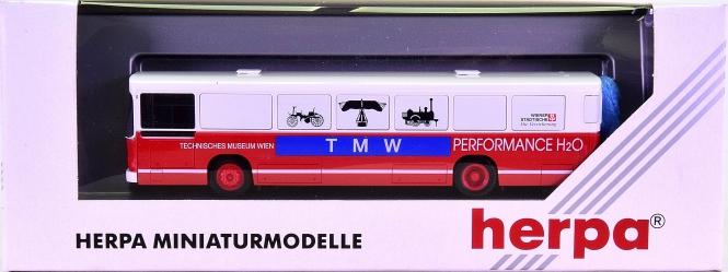 Herpa 142618 A (1:87) – Linienbus MAN -TMW / Technisches Museum Wien-