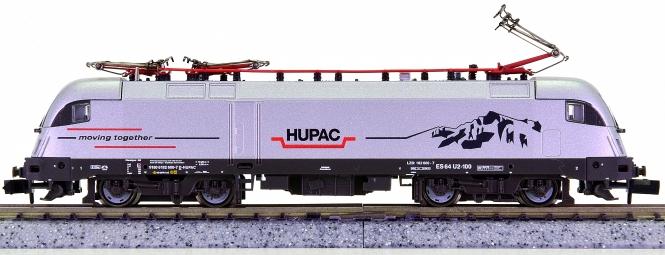 Fleischmann 731119 (N) – Elektrolok BR 182 (ES 64 U2-100) der HUPAC AG