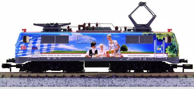 Fleischmann 781302 (N) – Elektrolok BR 111 -200 Jahre Biergarten- der DB AG