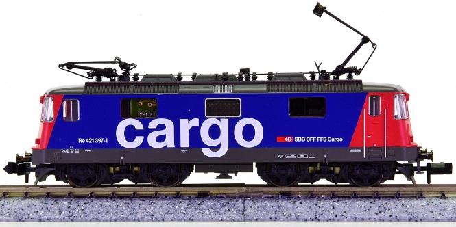 Fleischmann 7339 (N) - Elektrolok Re 4/4 der SBB Cargo