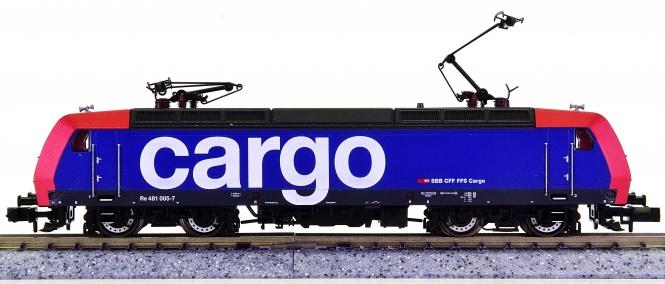 Fleischmann 7323 (N) – Elektrolok Re 481 der SBB Cargo