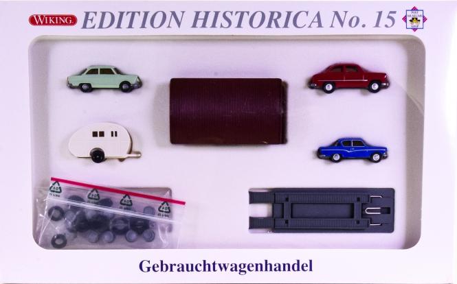 Wiking PMS 166632 (1:87) – Edition Historica No. 15 -Gebrauchtwagenhandel-
