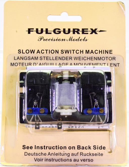 Fulgurex 211987 - Weichen- und Signalantrieb, 10 - 14 V DC