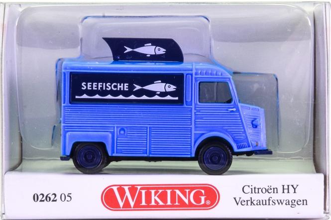 Wiking 026205 (1:87) – Citroen HY Verkaufswagen -Seefische-