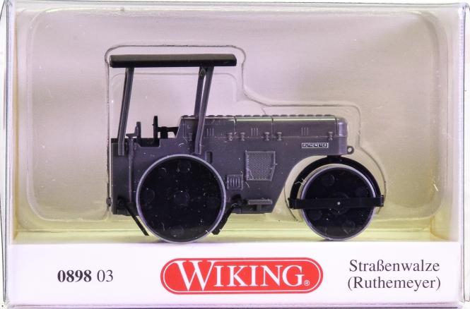 Wiking 089803 (1:87) – Ruthtemeyer Straßenwalze