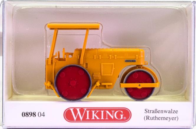 Wiking 089804 (1:87) – Ruthemeyer Straßenwalze
