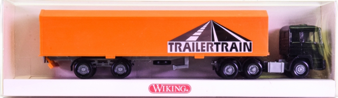 Wiking 5480129 (1:87) – MAN HU-PAC-Sattelzug -TrailerTrain-