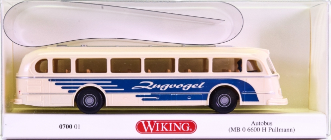 Wiking 070001 (1:87) – Mercedes-Benz  0 6600H Pullmann -Zugvogel-
