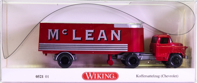 Wiking 052101 (1:87) – Chevrolet Koffersattelzug -Mc Lean-