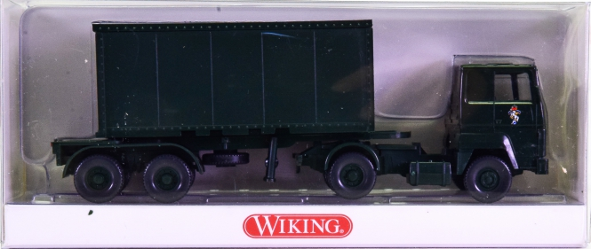 Wiking 06962442 (1:87) – Ford Transcontinental Containersattelzug
