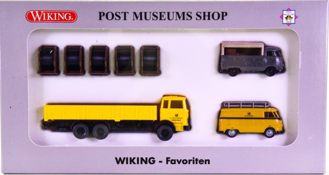 Wiking / PMS 81-58 (1:87) – Wiking-Favoriten PMS, Ausgabe No.1
