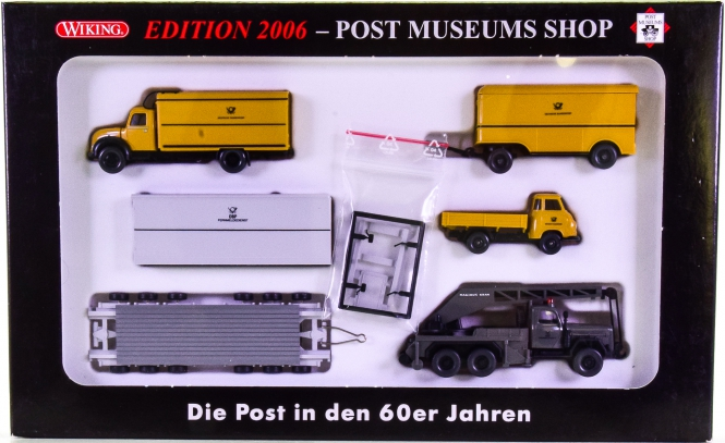 Wiking / PMS 80-11 (1:87) – Die Post in den 60er Jahren, Edition 2006