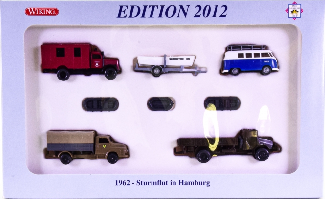 Wiking / PMS 173635 (1:87) – 1962 – Sturmflut in Hamburg, Edition 2012