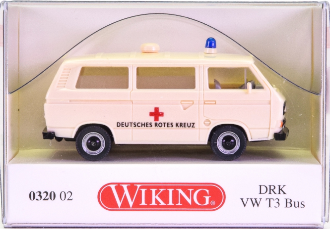 Wiking 032002 (1:87) – VW T3 Bus DRK