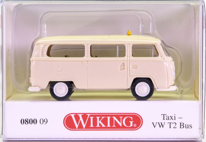 Wiking 080009 (1:87) – VW T2 Bus Taxi