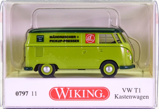 Wiking 079711 (1:87) – VW T1 Kastenwagen -Claas-
