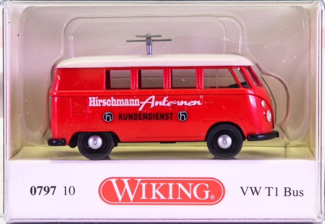 Wiking 079710 (1:87) – VW T1 Bus -Hirschmann Antennen-