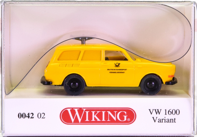 Wiking 004202 (1:87) – VW 1600 Variant Post Funkmesswagen