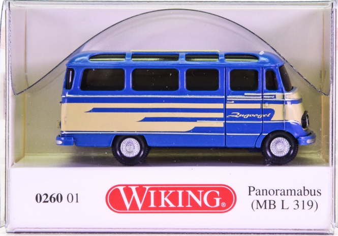 Wiking 026001 (1:87) – Mercedes-Benz L 319 Panoramabus